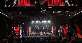 Lomachenko vs López (Mikey Williams / Top Rank)