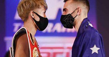 """Monster"" Inoue vs. ""Mayhem"" Moloney (Mikey Williams / Top Rank )"