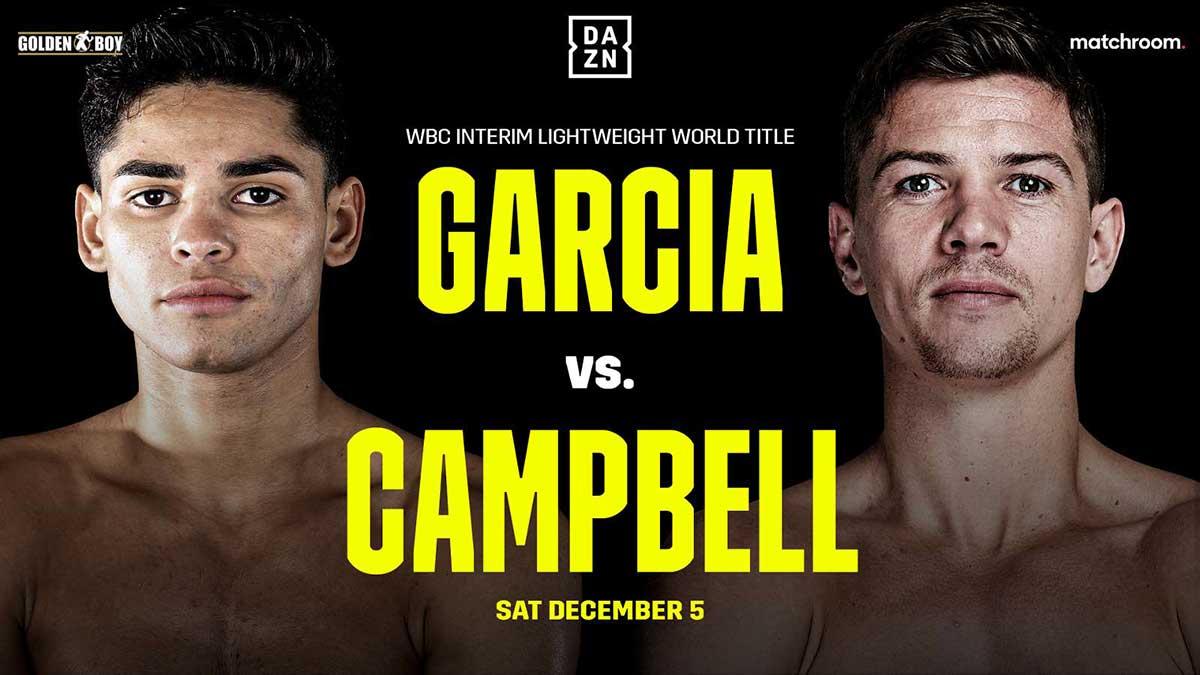 Ryan García y Luke Campbell