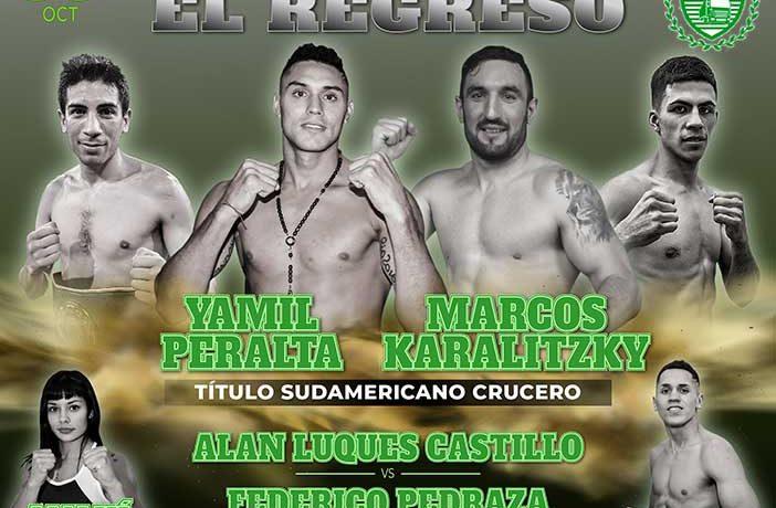Yamil Peralta - Marcos Karalitzky - Alan Luques Castillo - Federico Pedraza