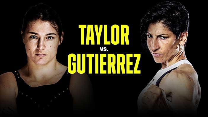 Katie Taylor vs Miriam Gutiérrez