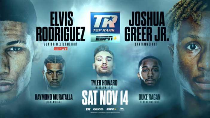 Elvis Rodríguez en el Crawford vs Brook