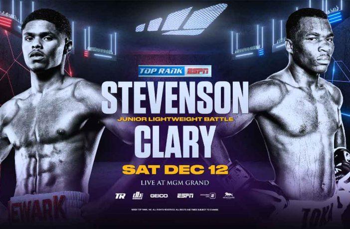 Shakur Stevenson vs Clary
