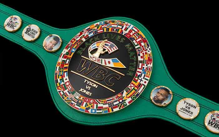 Cinto del WBC para el Tyson vs Jones