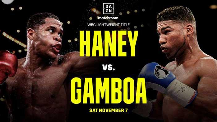 Haney vs Gamboa