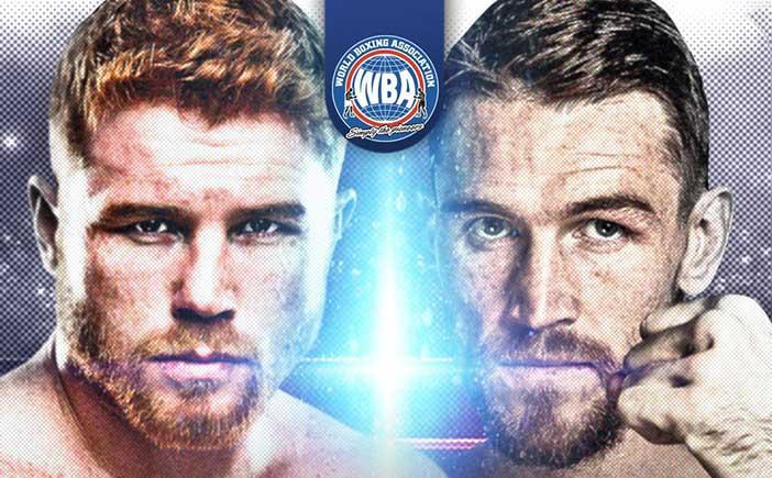 Canelo vs Smith WBA
