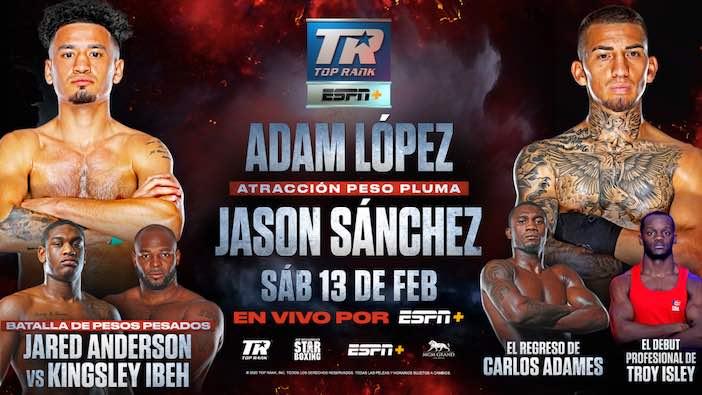 Adan López vs. Jason Sánchez