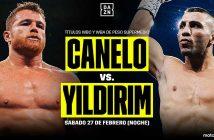 DAZN Canelo vs. Yildirim