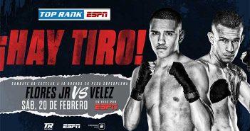 Gabriel Flores Jr. vs Jayson Velez