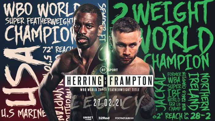 Jamel Herring vs Carl Frampton e