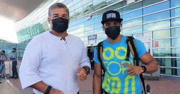 Pedro y Ricky Márquez (Foto por Spartan Boxing)