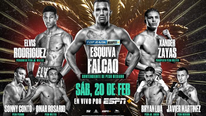 Esquiva Falcao vs. Elvis Rodríguez