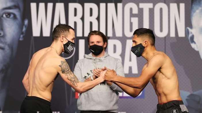 Josh Warrington vs. Mauricio Lara (Mark Robinson/Matchroom)