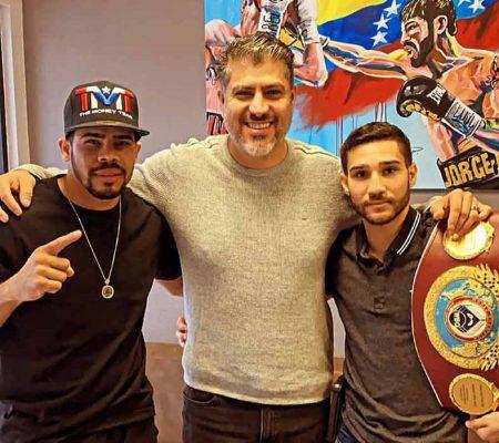 Jean 'Lobo' Torres, José de la Cruz y Wilfredo Méndez