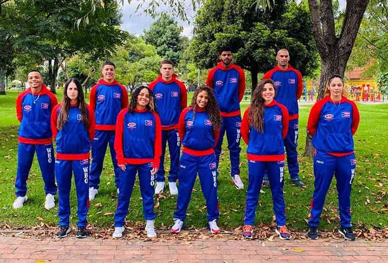 Equipo de boxeo de Puerto Rico (Foto: Fernando Gaztambide)