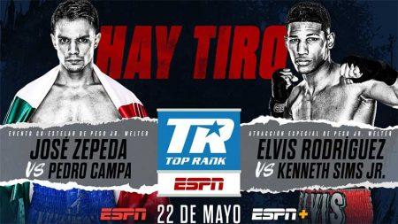 José Zepeda vs. Campa & Elvis Rodríguez vs. Sims