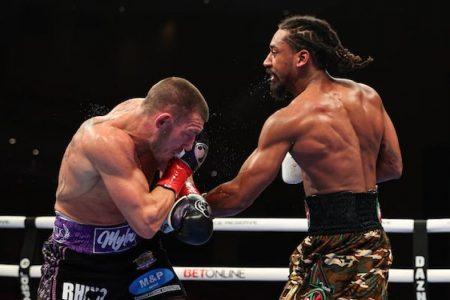 Liam Williams vs. Demetrius Andrade (Ed Mulholland / Matchroom)