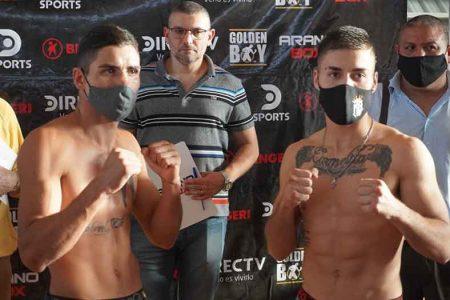 "Maximiliano ""el Profe"" Segura vs. Ramiro ""Zurdo"" Martínez (Arano Box)"