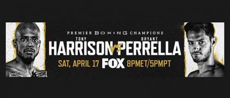 Tony Harrison contra Bryant Perrella