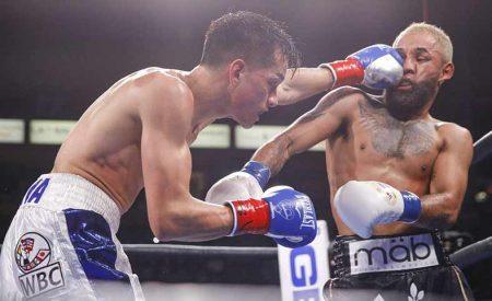 Brandon Figueroa vs Luis Nery (Cortesía Showtieme)
