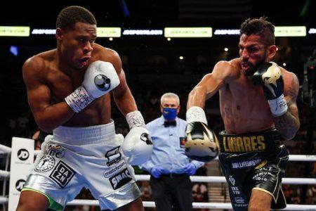 Haney vs Linares (Ed Mulholland / Matchroom)