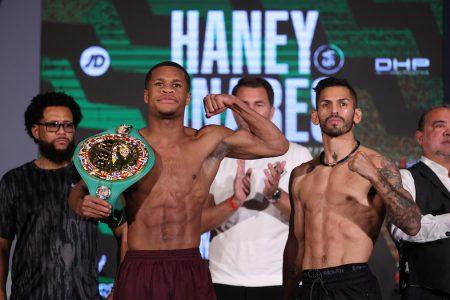 Haney vs Linares WBC