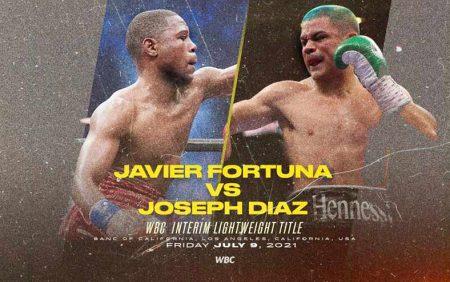 Javier Fortuna vs. Joseph Díaz