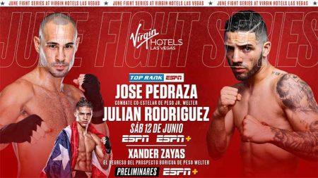José Pedraza vs. Julian Rodríguez