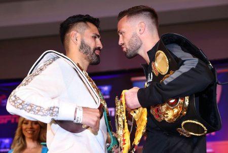José Ramírez vs. Josh Taylor (Mikey Williams / Top Rank vía Getty Images)