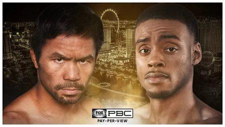 Manny Pacquioa vs Errol Spence Jr.