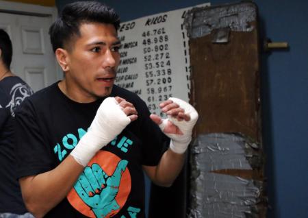 "Abraham ""Choko"" Rodríguez (FOTO: TM Boxing)"