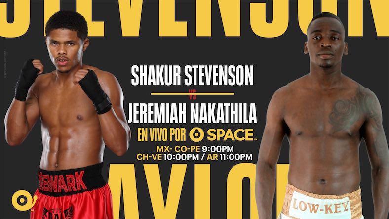 SHAKUR STEVENSON vs. JEREMIAH NAKATHILA