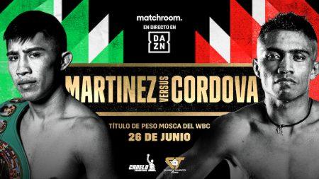 Julio César Martínez vs. Joel Córdoba