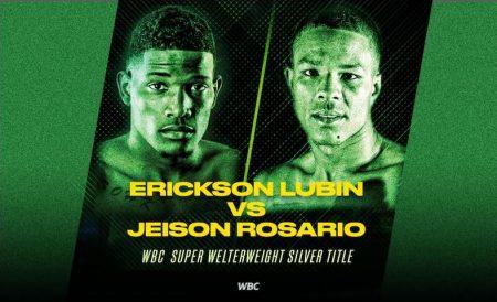 Ericson Lubin vs. Jeison Rosario