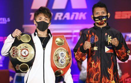 Inoue vs. Dasmarinas (Mikey Williams / Top Rank vía Getty Images)