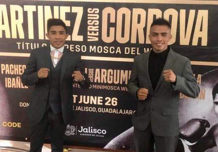 Julio César Martínez vs Joel Córdova