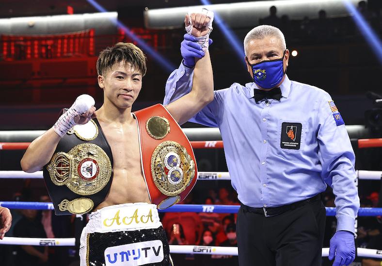 Naoya Inoue (Mikey Williams / Top Rank vía Getty Images)