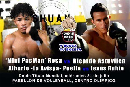 Erick 'Mini PacMan' Rosa vs. RIcardo Astuvilca