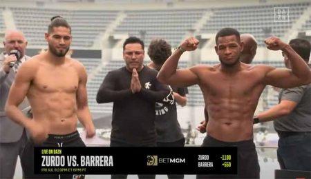 Gilberto Ramírez vs Sullivan Barrera