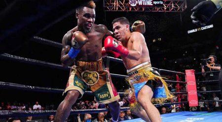 Jermell Charlo y Brian-Castaño empatan (Premier Boxing Champions)