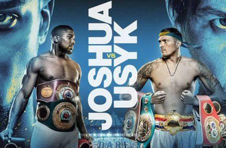 Joshua vs. Usyk