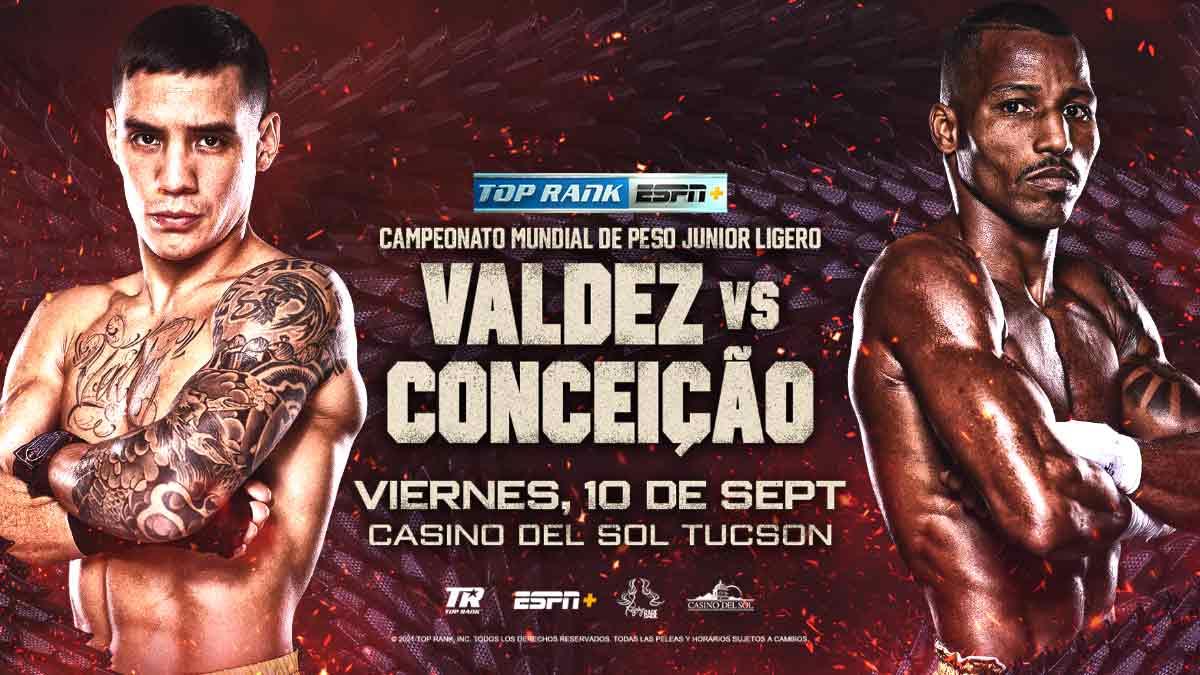 Oscar Valdez vs. Robson Conceição