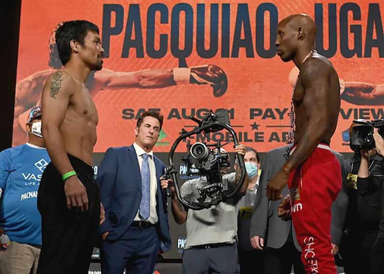Pacquiao vs. Ugás (Scott Kirkland / FOX Sports)