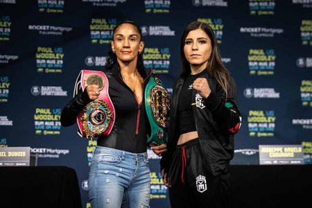 Amanda Serrana y Yamileth Mercado (Foto: Amanda Westcott/SHOWTIME)