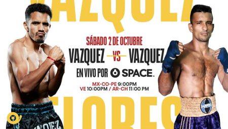 Miguel Vázquez vs. Oliver Flores