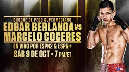 Edgar Berlanga vs. Marcerlo Coceres