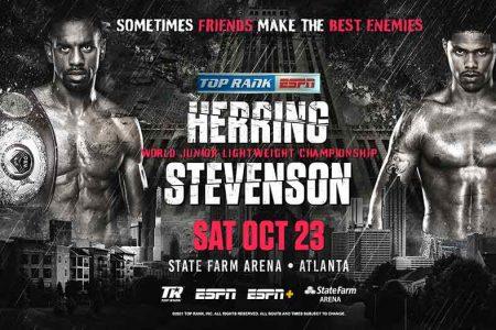 Jamel Herring vs. Shakur Stevenson