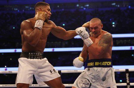 Joshua vs Usyk (Mark Robinson/Matchroom)