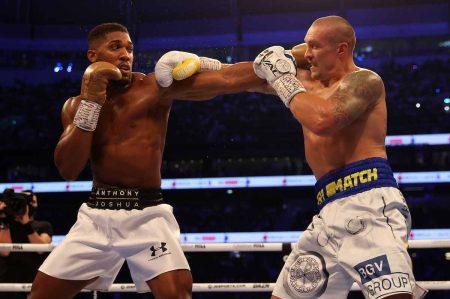 Anthony Joshua vs Oleksander Usyk (Foto: Mark Robinson Matchroom Boxing)