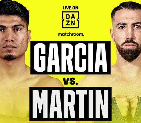 Mikey García vs. Sandor Martín en DAZN
